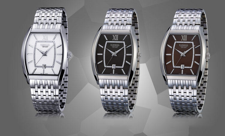 stainless steel casual watches for men quartz design for formal-2
