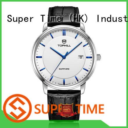 display best men's quartz watches design for business Super Time