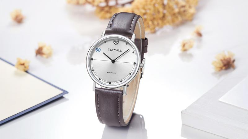Fashion Stainless Steel Hand Wristwatches Unique Brand Wrist Simple Minimalist Style Unisex Watches TS009G