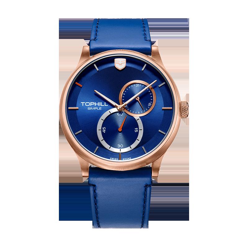 OEM Logo Custom Fashion Stainless Steel Hand Wristwatches Unique Brand Luxury Wrist Men Watches TV001G