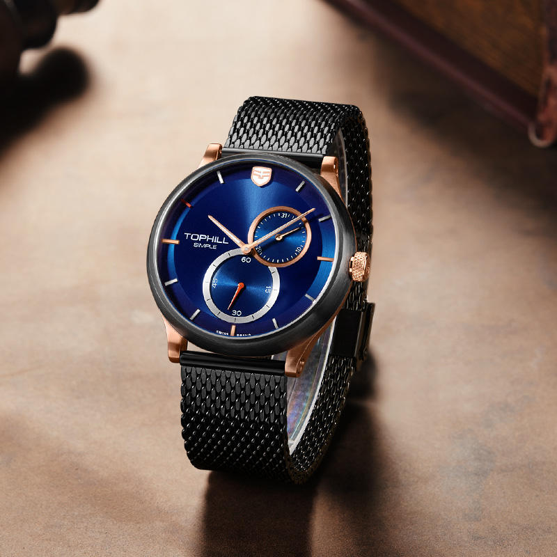 Super Time rose casual watches for men supplier for business
