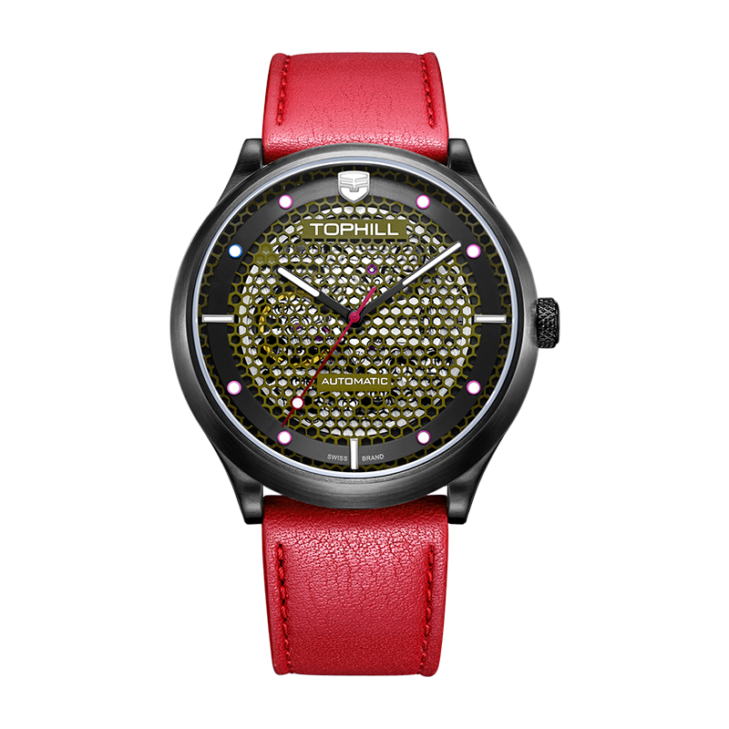 Hot products Factory OEM Custom Brand Skeleton Japan Automatic Men Watch with Excellent Performance TV002G