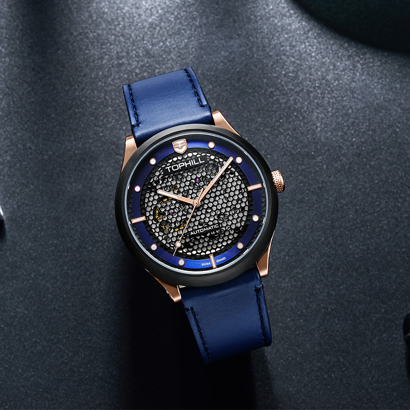 Super Time gold best automatic mechanical watch wholesale for dive-7