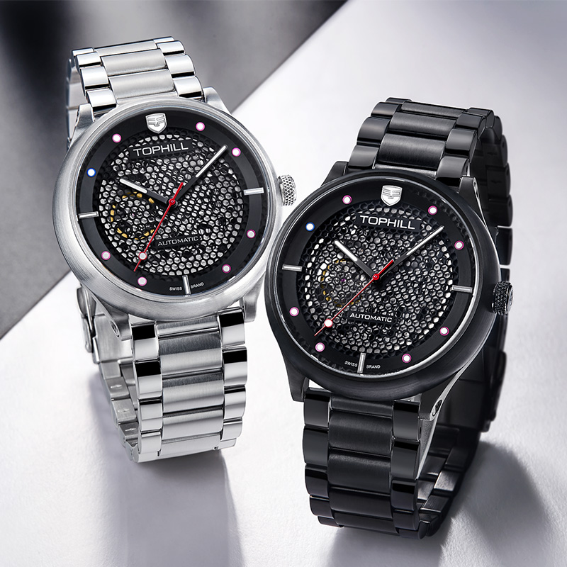 Super Time gold best automatic mechanical watch wholesale for dive-5
