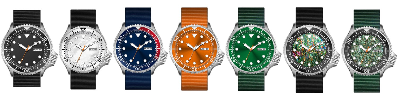 Super Time g7316 quartz dive watch customized for sport-2