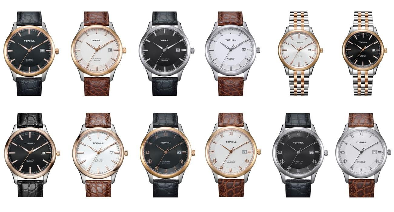 famous customized automatic mechanical watch manufacturer male factory for work