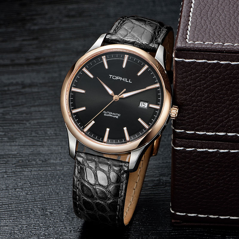famous customized automatic mechanical watch manufacturer male factory for work-7