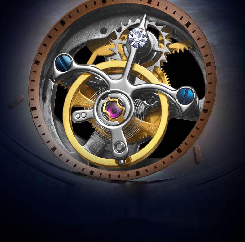 Super Time Custom affordable tourbillon watches supplier manufacturer for formal dinner-4