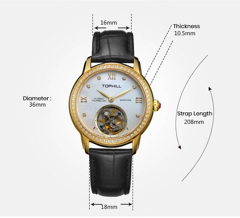 Super Time Custom affordable tourbillon watches supplier manufacturer for formal dinner-5