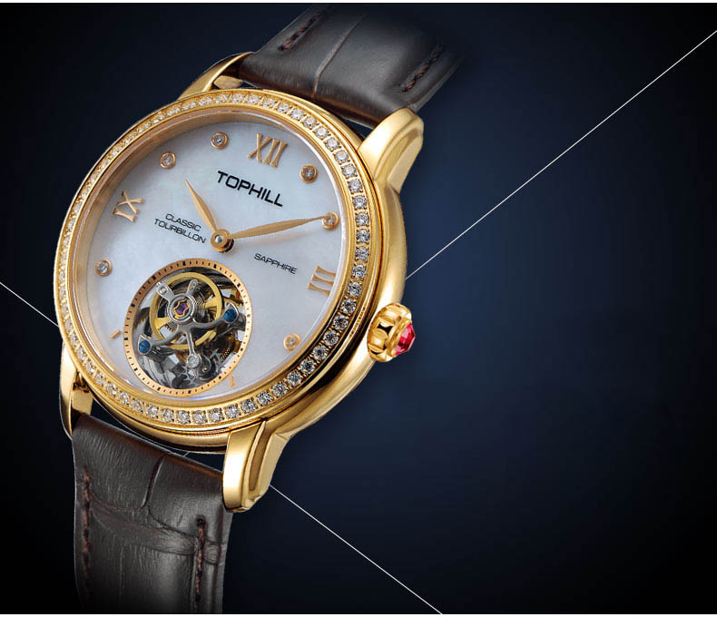 Super Time Custom affordable tourbillon watches supplier manufacturer for formal dinner-7