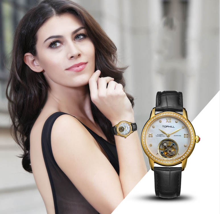 Super Time Custom affordable tourbillon watches supplier manufacturer for formal dinner-11