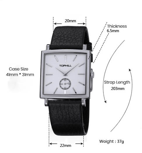 Super Time waterproof mens fashion watches design for business-4