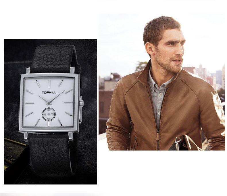 Super Time waterproof mens fashion watches design for business-7