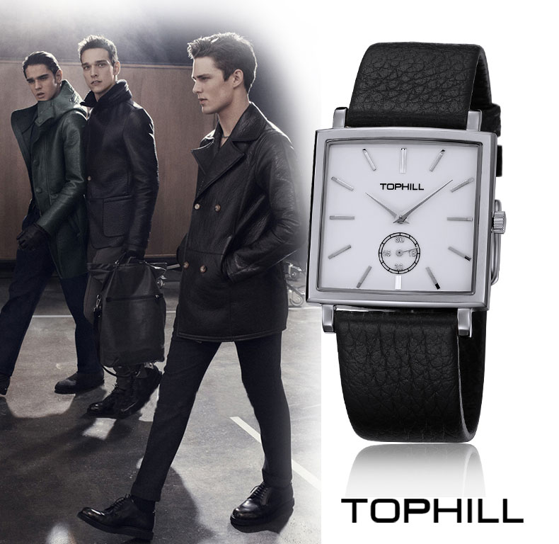 Super Time waterproof mens fashion watches design for business-8