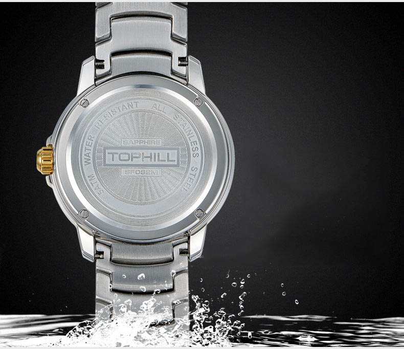modern popular mens watches nail design for formal-5