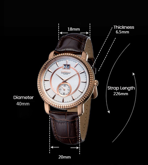 Super Time ultra popular mens watches manufacturer for formal-4