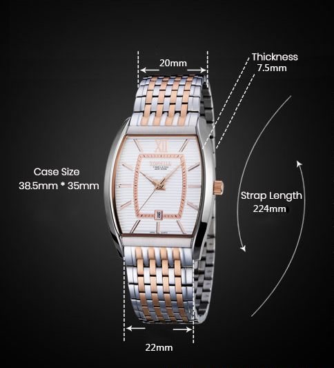 stainless steel casual watches for men quartz design for formal-4