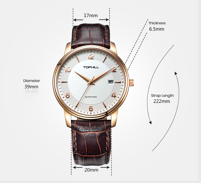 Super Time hands good watches for men design for business-4