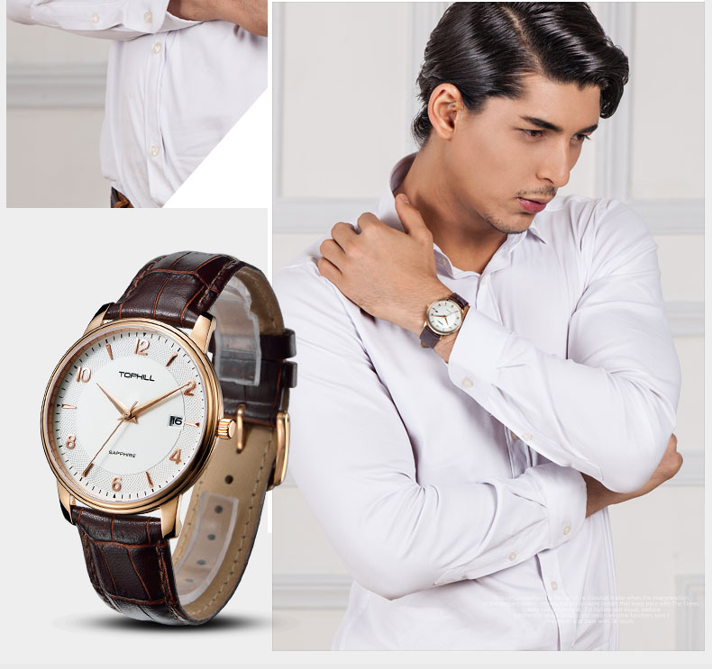 Super Time hands good watches for men design for business-8