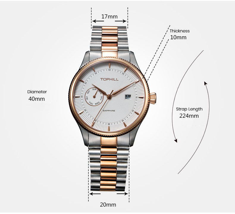 roman numerals male watches hands manufacturer for work-4