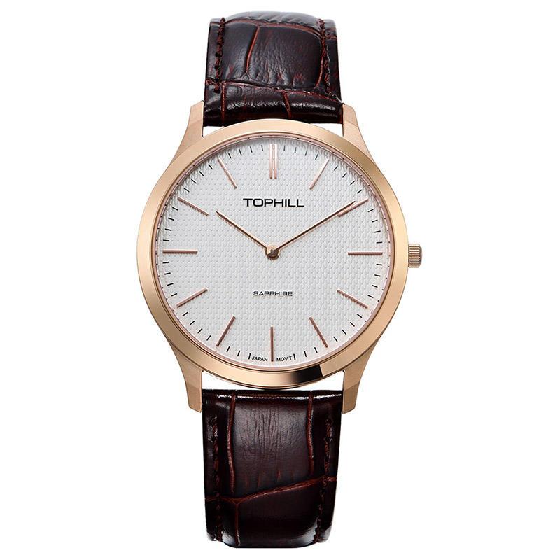 Men Minimalist Geneva Quartz Watches
