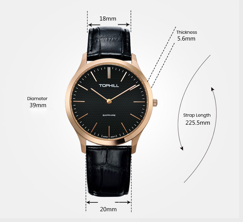 ODM casual watches for men luxury manufacturer for formal-4