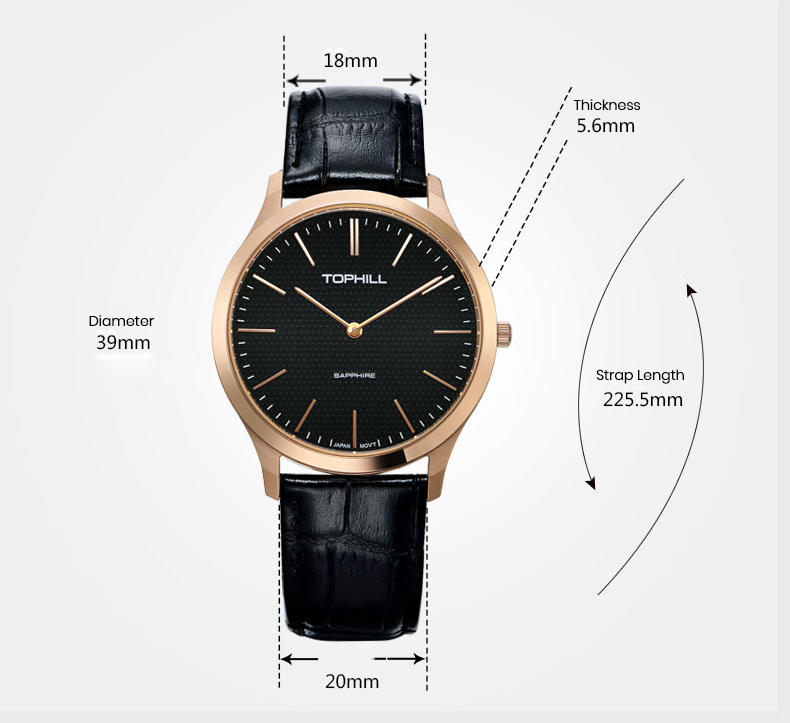 ODM casual watches for men luxury manufacturer for formal