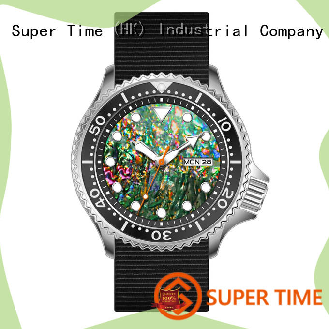 Super Time g7316 quartz dive watch customized for sport