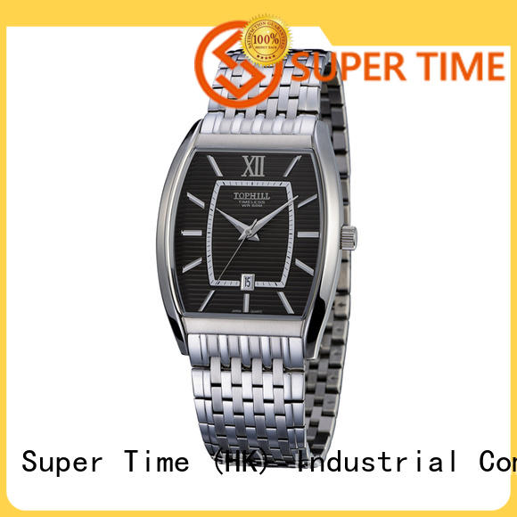Super Time movt unique mens watches factory for formal