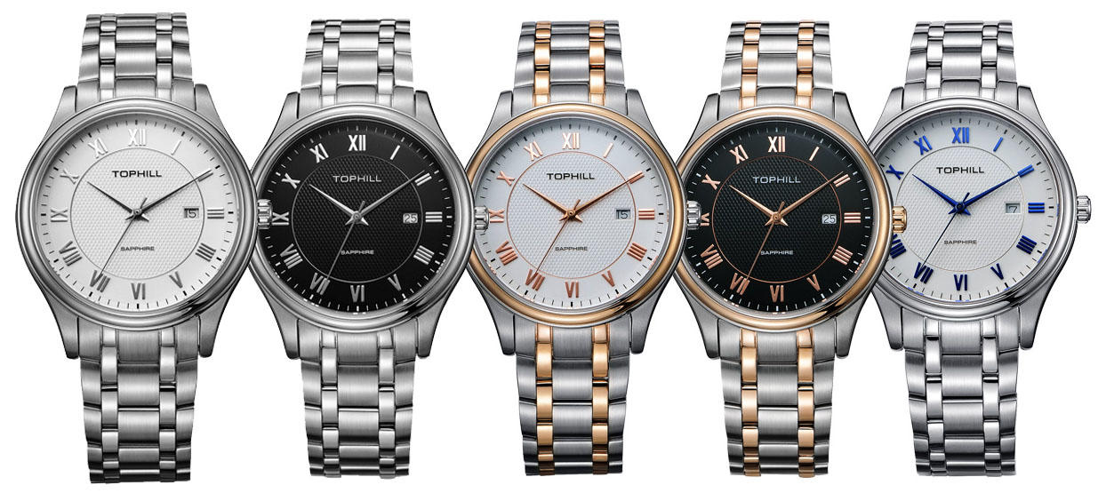 Super Time stainless steel male watches design for work-2