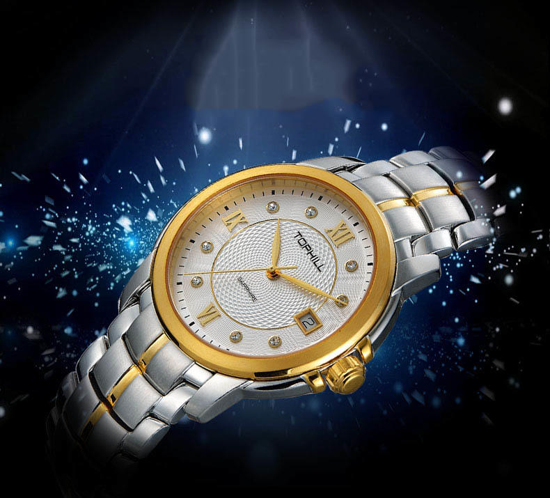 modern popular mens watches nail design for formal-3