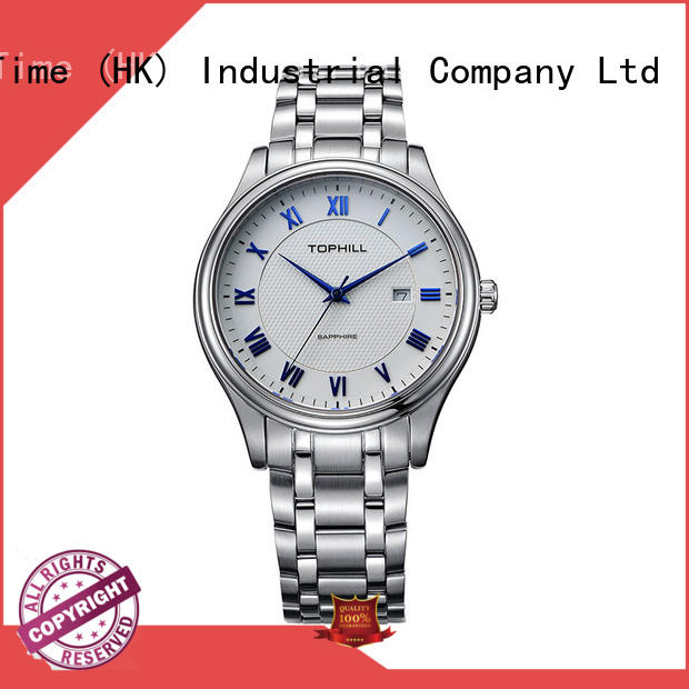 Super Time stainless steel male watches design for work