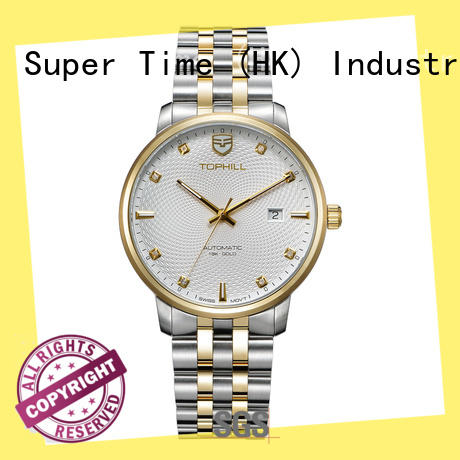 Super Time skeleton men's automatic mechanical watch movement for work