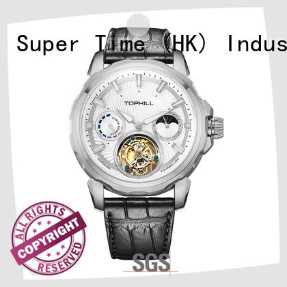 cheapest tourbillon swiss watch stainless steel for work Super Time
