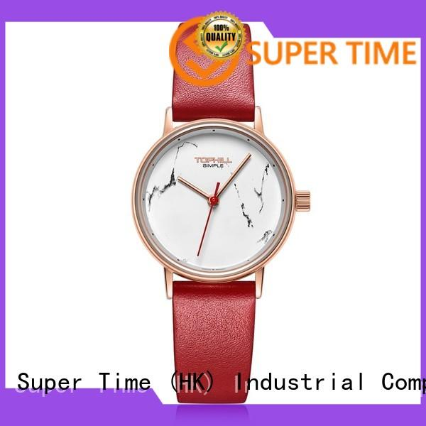 Super Time leather band wholesale for daily life