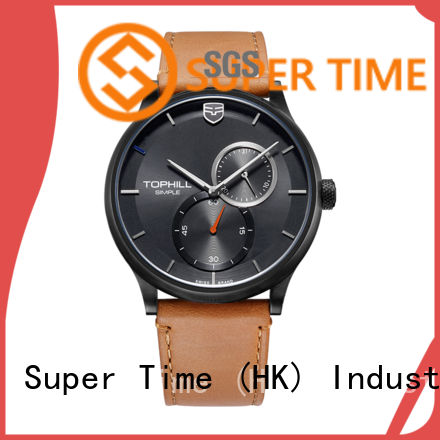 Super Time moon good watches for men supplier for date