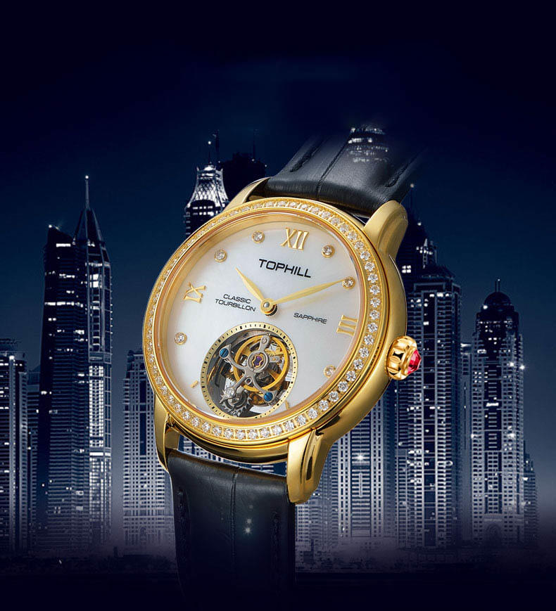 Super Time Custom affordable tourbillon watches supplier manufacturer for formal dinner-3