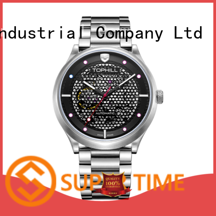 luminous automatic mechanical wrist watch famous manufacturer for work