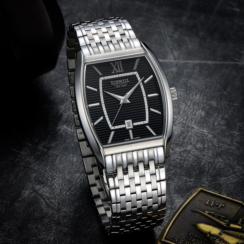 stainless steel casual watches for men quartz design for formal-3