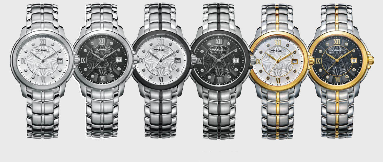 modern popular mens watches nail design for formal-2