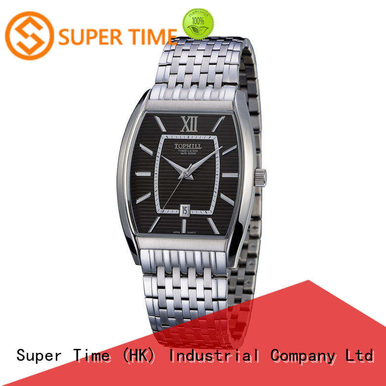 stainless steel casual watches for men quartz design for formal