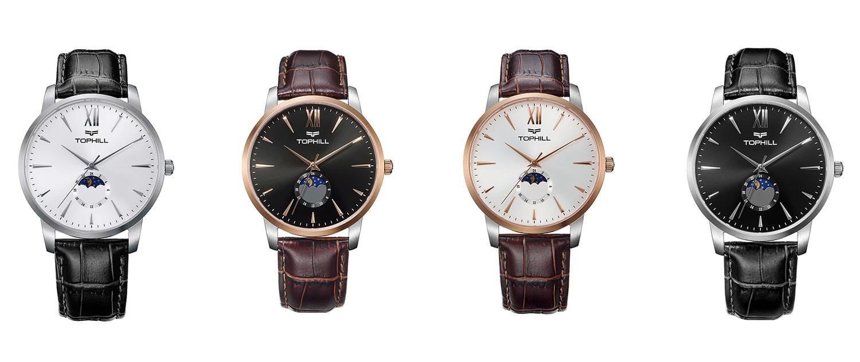 Super Time gold mens quartz watches design for work-2