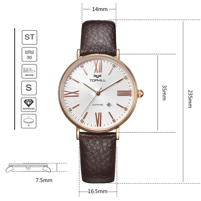 Super Time quart watch supplier modern for business-3