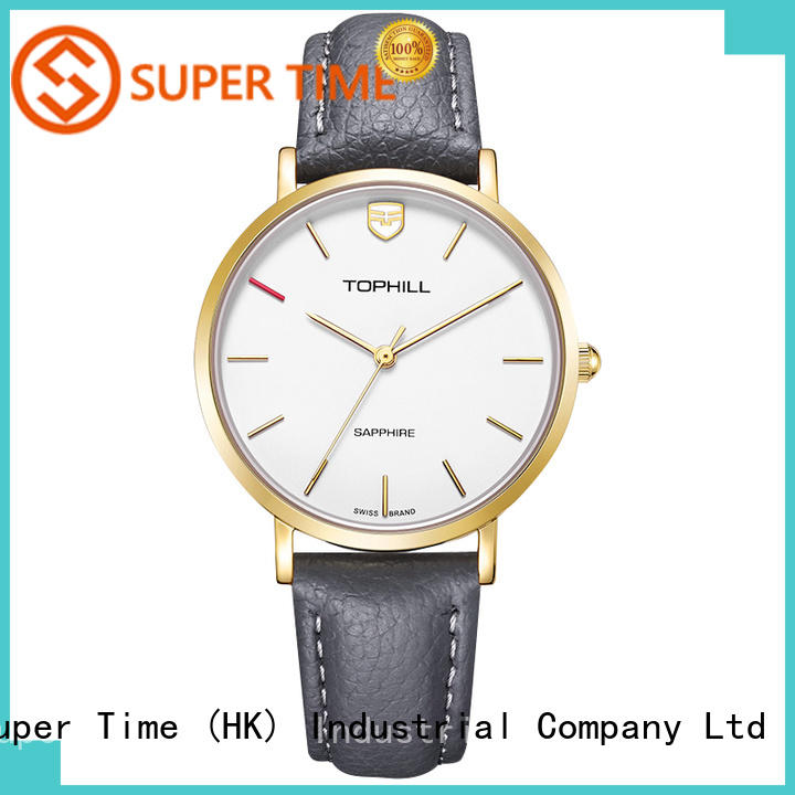 OEM ladies fancy watch slim supplier for daily life