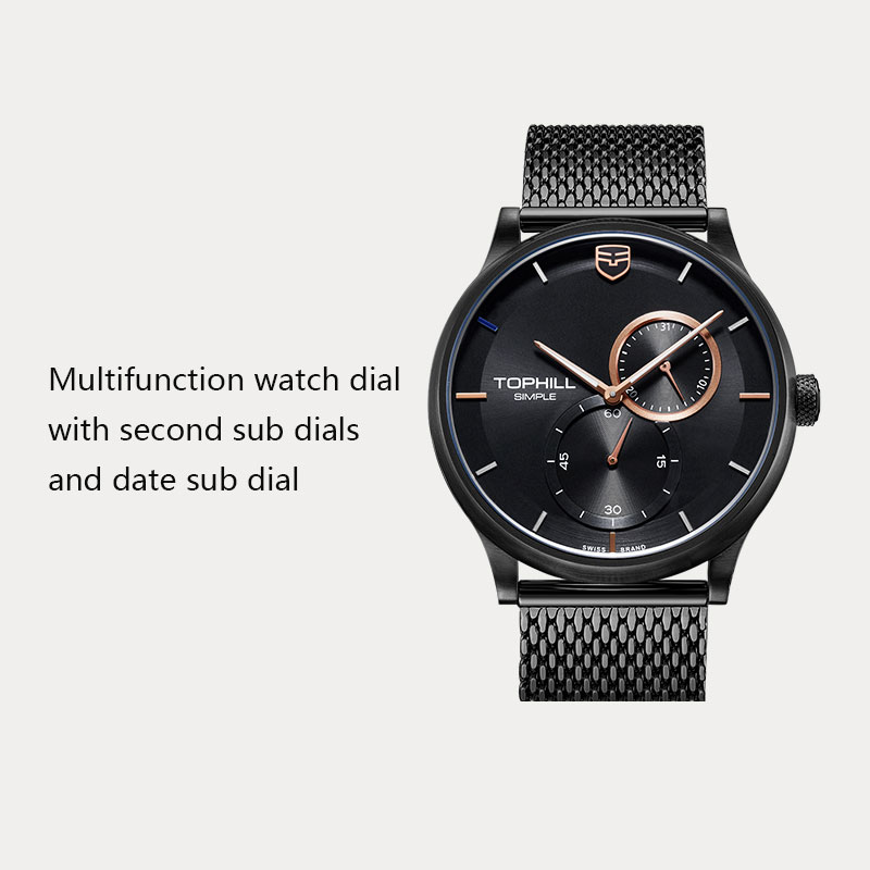Super Time arabic casual watches for men manufacturer for date-5