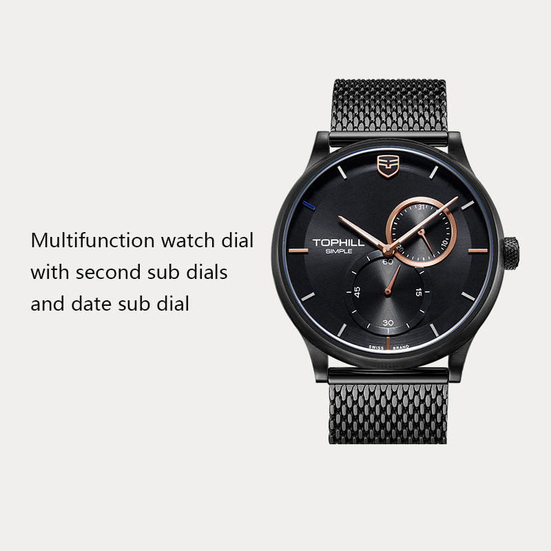 Super Time arabic casual watches for men manufacturer for date