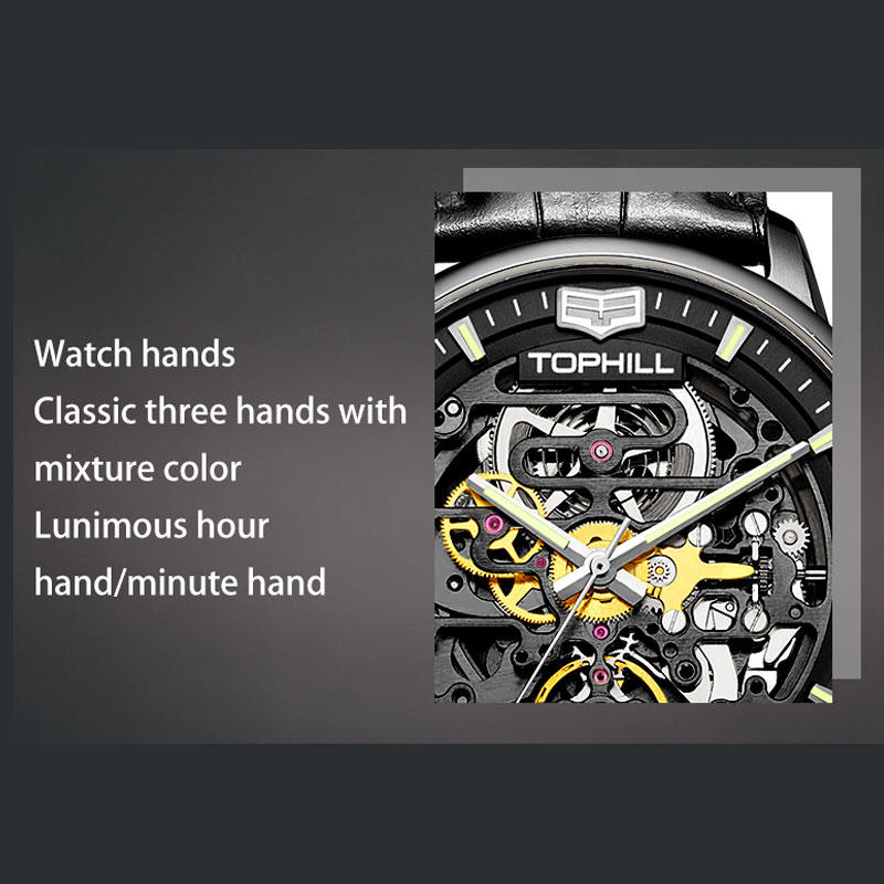 Super Time luxury automatic mechanical watch supplier manufacturer for sport