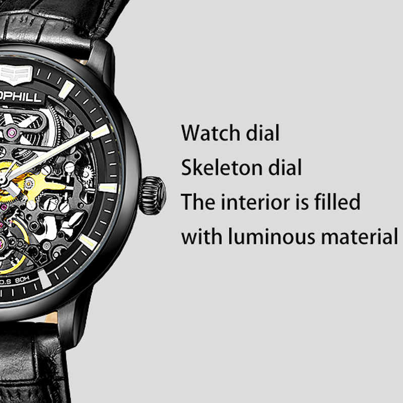 automatic automatic watch mechanism luxury manufacturer for work-8