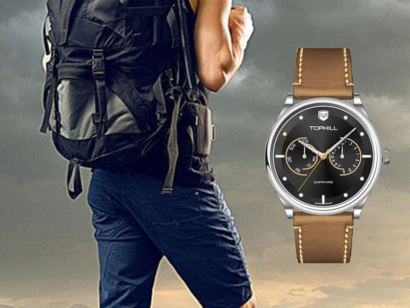 Super Time roman multifunction watches customized for adults-4