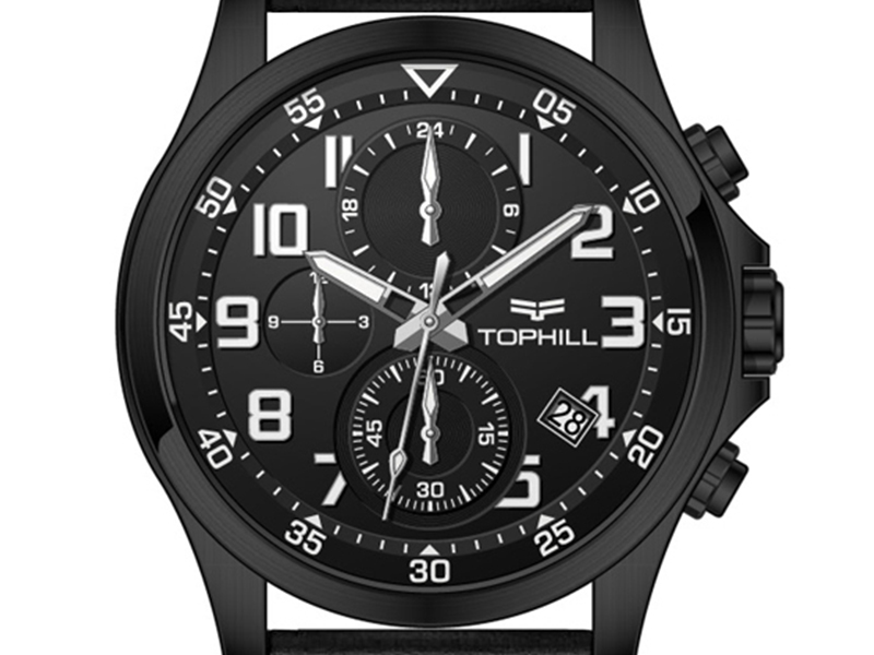 multifunctional chronograph wrist watch case manufacturer for adults-4